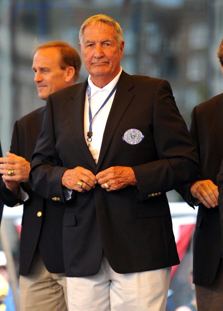College Hall of Fame Football Alabama's Gene Stallings