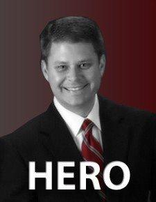 Chris Stewart, hero